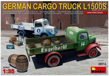 Сборная модель GERMAN CARGO TRUCK L1500S 38014