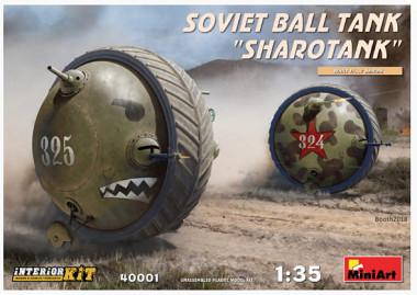 Танк SOVIET BALL TANK Sharotank INTERIOR KIT 1:35 40001