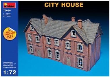 Сборная модель CITY HOUSE 1:72 72030
