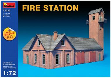 Сборная модель FIRE STATION 1:72
