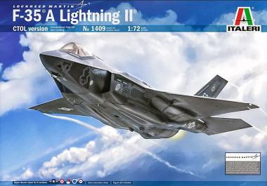 F-35 A Lightning II (1:72) italeri 1409