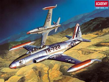 самолет T-33A Shooting Star (1:48)