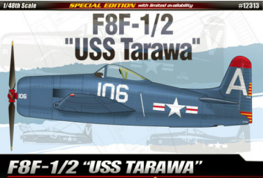 F8F-1/2 Bearcat USS Tarawa (1:48)