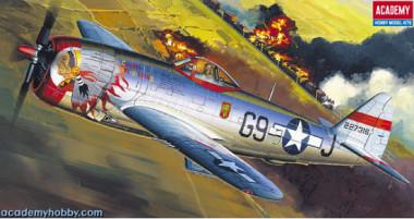 Сборная модель 12491  P-47D BUBBLE-TOP (1:72)