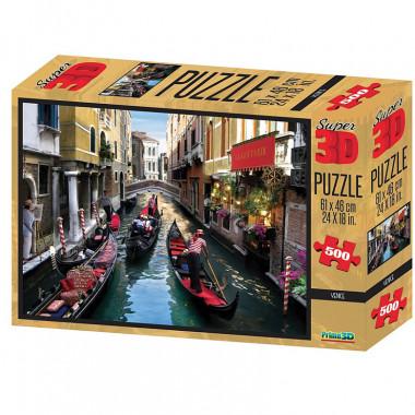 Пазл Super 3D Венеция 10102