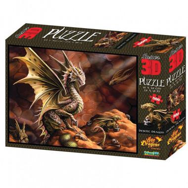 Пазл Super 3D Пустынный дракон 10091
