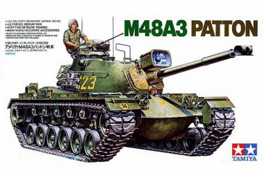 Сборная модель 1/35 Танк М48А3 Patton U.S. арт.35120