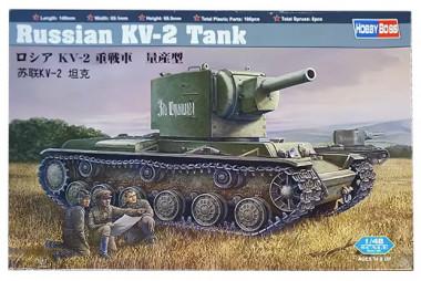 Танк Russian KV-2 Tank 1:48 84816