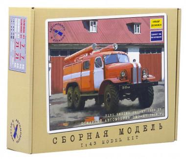 1067KIT пожарный автомобиль ПМЗ-27 1959 г. (1:43)