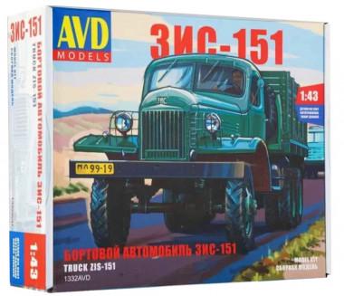 AVD  бортовой ЗИС-151 (1:43) 1332