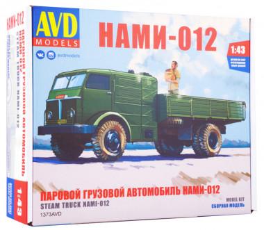 1373AVD Паровой грузовой автомобиль НАМИ-012 (1:43)