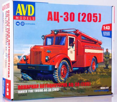 1375AVD Игрушка автомобиль АЦ-30