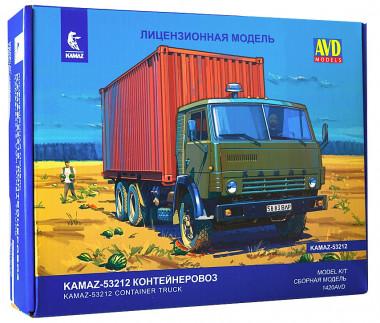КАМАЗ-53212 контейнеровоз 1:43