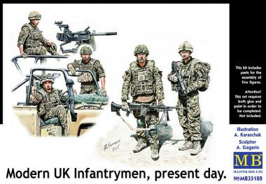 35180 Современная британская пехота