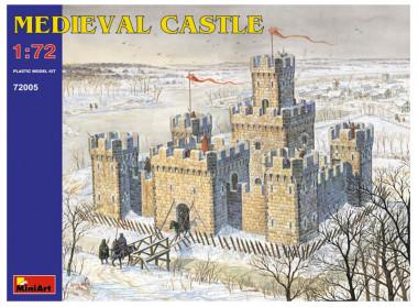 модель Средневековый замок 1:72 miniart