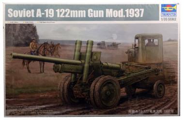 Сборная модель 122-мм пушка образца 1931/37 годов А-19 1:35