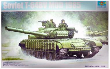Сборная модель Танк Т-64БВ мод. 1985 1:35