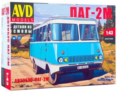 сборная модель Автобус ПАГ-2М 1:43