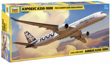 Сборная модель аэробус А-350-1000 1:144