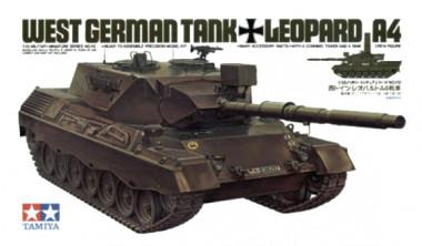 Сборная модель Танк LEOPARD A4 с 1 фиг. 35112