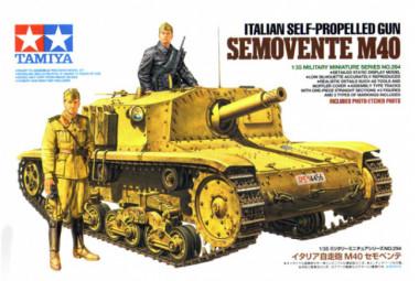 Сборная модель Semovente M40 1/35
