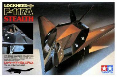 1/72 F-117A Stealth tamiya