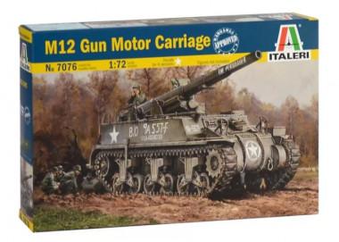 сборная модель САУ M12 Gun Motor Carriagе 1:72
