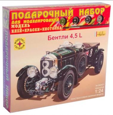 сборная модель Bentley 4,5L подарочный набор 1:24