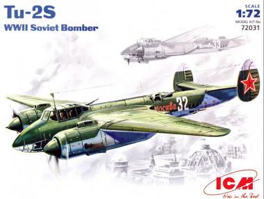 Сборная модель Ту-2 icm 72031