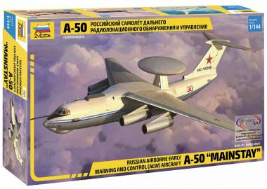 Сборная модель самолет А-50 1:144