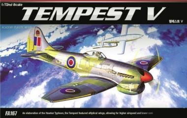 Сборная модель самолет Tempest V 1:72