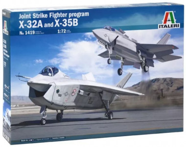 Самолёт Joint Strike Fighter program X-32A and X-35B  1:72