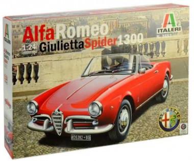 Автомобиль ALFA ROMEO GIULIETTA SPIDER 1300 1:24