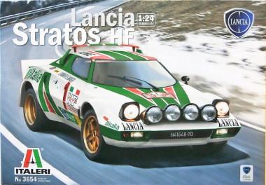 Автомобиль LANCIA STRATOS HF 1:24