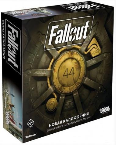 Настольная игра Fallout. Новая Калифорния (дополнение)