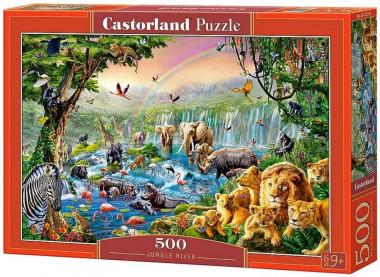 Пазл «Река в джунглях» 500 элементов