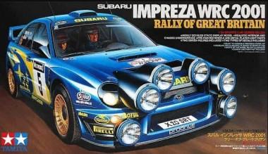 SUBARU IMPREZA WRC 2001 Rally of Great Brit. 1:24
