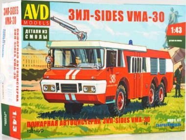 Пожарная автоцистерна ЗИЛ-SIDES VMA-30 1:43