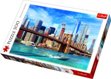Пазл «Виды Нью-Йорка» 500 элементов
