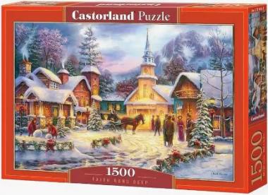Пазл «Зимний город» 1500 элементов