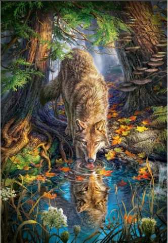 Пазл «Волк» 1500 элементов