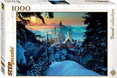 Пазл «Бавария. Замок Нойшванштайн» 1000 элементов