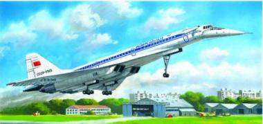 Сборная модель Ту-144Д