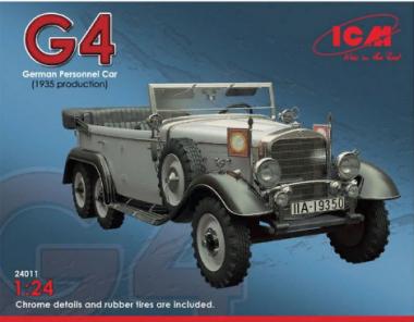 Typ G4 (производства 1939), автомобиль германского руководства 1:24