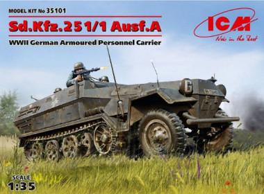 Sd.Kfz.251/1 Ausf.A, Германский бронетранспортер ІІ МВ 1:35
