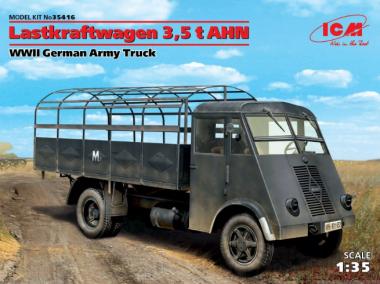 Lastkraftwagen 3,5 t AHN, грузовой автомобиль германской армии 2МВ 1:35