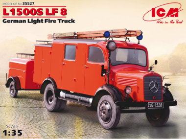 L1500S LF 8, Германский легкий пожарный автомобиль 2МВ 1:35