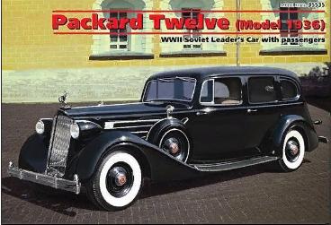 Советский автомобиль Packard Twelve 1:35 ICM