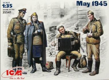 Фигурки Май 1945 г 1:35