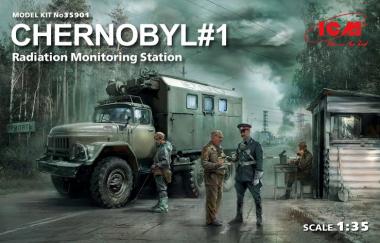 Чернобыль №1. Пункт радиационного контроля 1:35